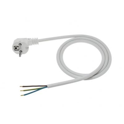 Napájecí kabel 1,5m OMY 3x1 bílý