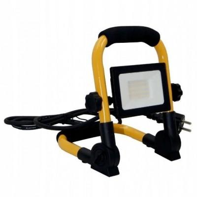 ECOLIGHT LED reflektor - EC79237 - 50W - neutrální bílá - se stativem a kabelem
