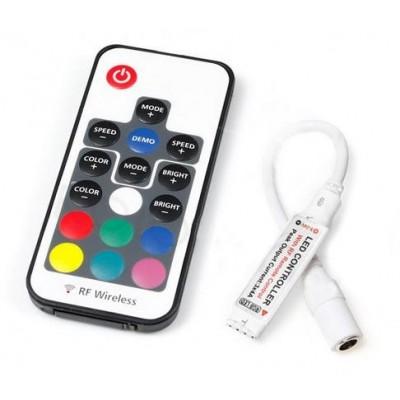 ECOLIGHT Dálkový ovladač pro RGB LED pásky RF 17 tlač
