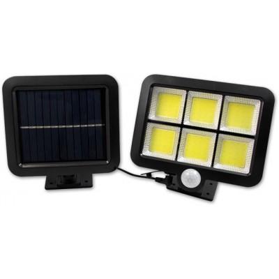 MASTER LED solární reflektor 6xCOB - senzor soumraku a pohybu