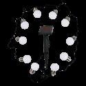 MASTER LED solární věnec - 309280 - teplá bílá