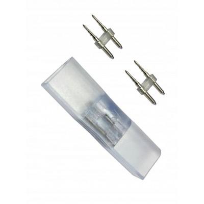 BERGE Krátká spojka pro LED pásky NEON - NEON + vidličky