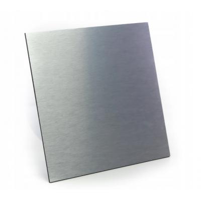 BERGE Dekorativní panel pro ventilátor dRim - kartáčovaný hliník