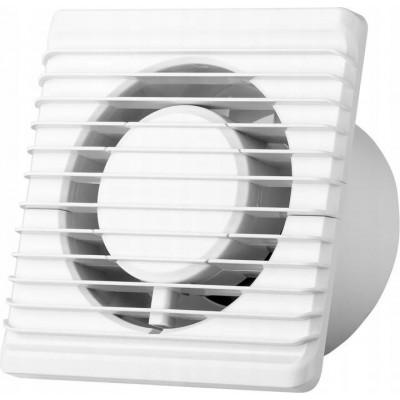 BERGE Nástěnný ventilátor energy planet - FI100 - S - bílý