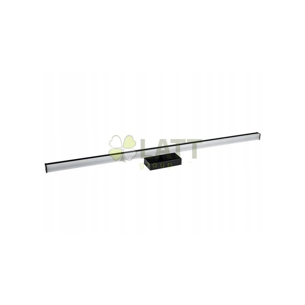 BERGE LED koupelnové svítidlo - B7073 - 15W - 70 cm - černé