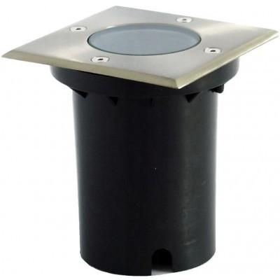 BERGE LED svítidlo 002020 nájezdové čtvercové GU10 - IP65
