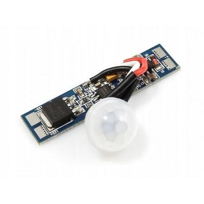 BERGE Spínač pro LED PIR profilový pásek 8A 96W PIR001