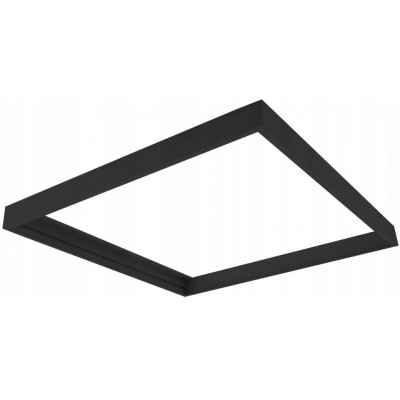 BERGE Rám pro kazetu panelu LED 60x60 černý