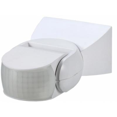 BERGE LED detektor pohybu bílý IP65 180 stupňů 1200W