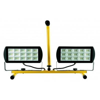 BERGE Dvouúčelový stativ s 2x45W reflektorem