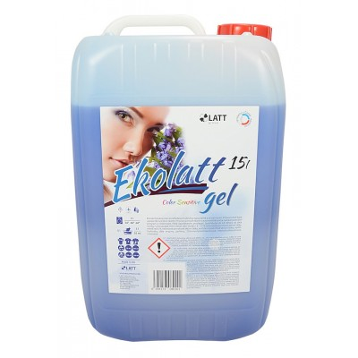 EKOLATT COLOR SENSITIVE prací gel 15L