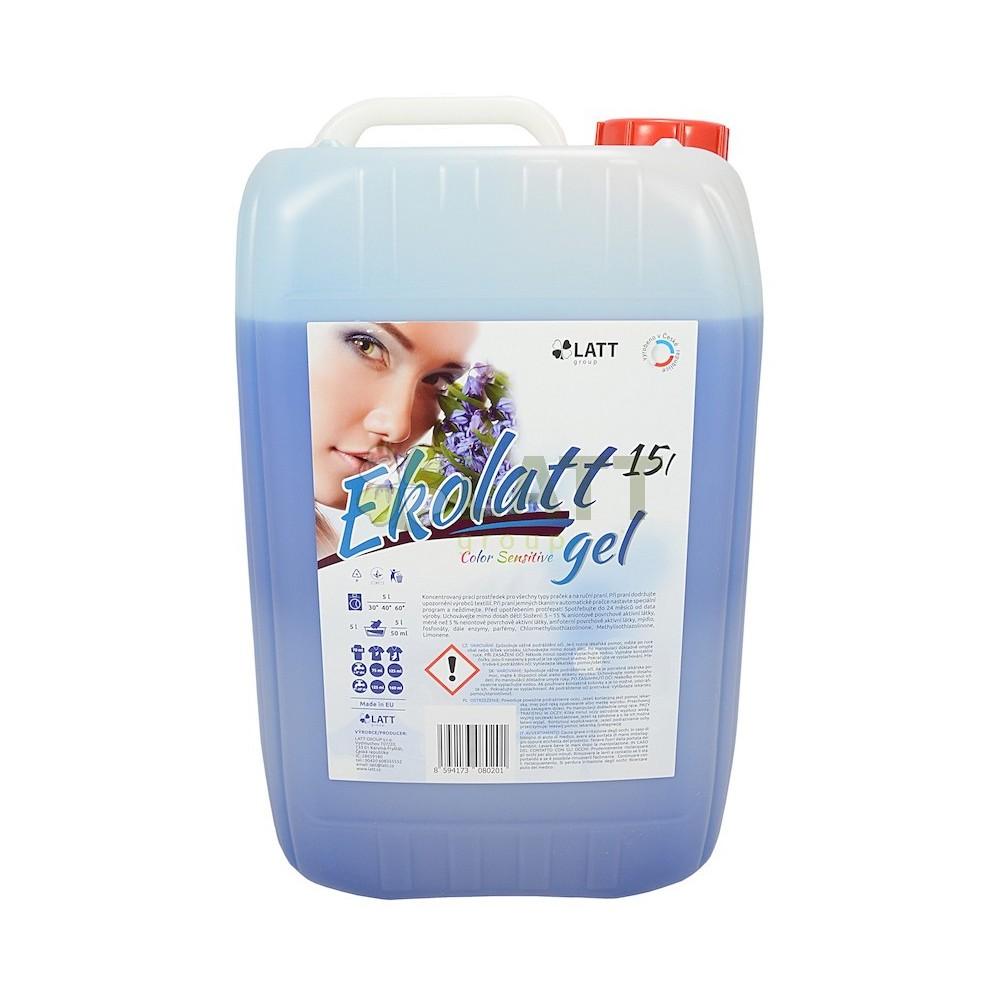 EKOLATT COLOR SENSITIVE prací gel 15L