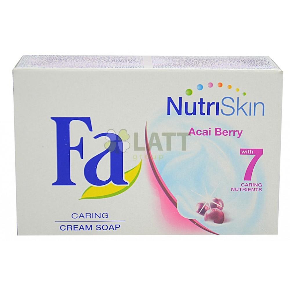 Fa NutriSkin Moisturising Acai Berry toaletní mýdlo 100 g