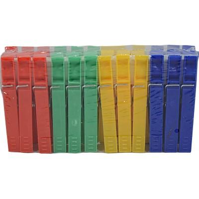 Kolíčky na prádlo 24 ks plastové