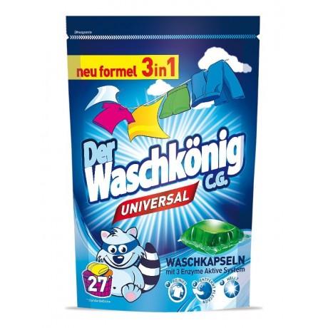 Waschkönig Universal kapsle na praní 27 ks
