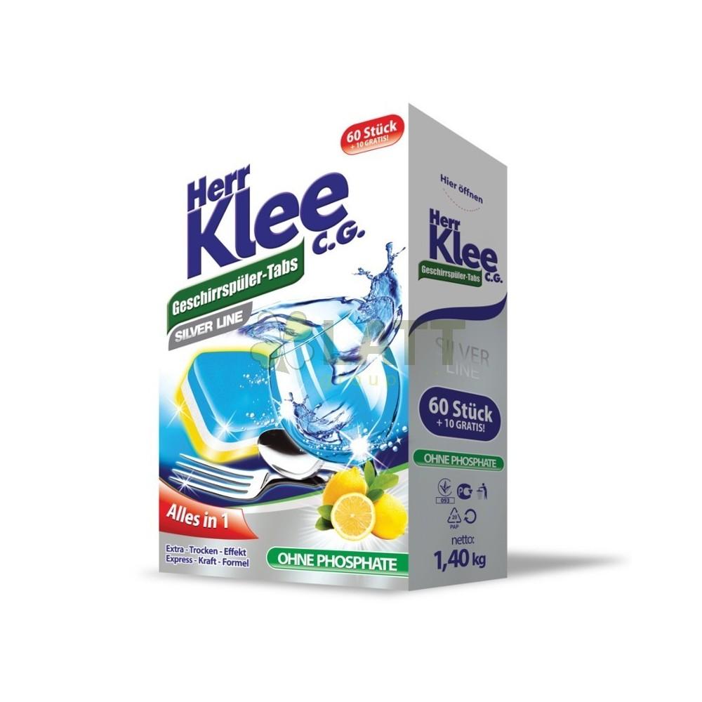 Klee Silver Line All in 1 tablety do myčky nádobí 70 ks