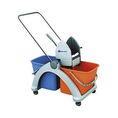 Merida - Úklidový vozík Roll-Mop s plastovou konstrukcí - MO3P