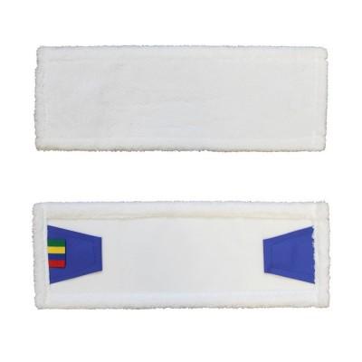Merida - Mop se záložkami ECONOMY, mikrovlákno, 40 cm , bílý - SEP141