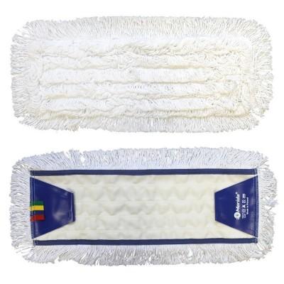 Mop plochý uzlíčkový se záložkami OPTIMUM, bavlan, 50 cm (dříve MO14)