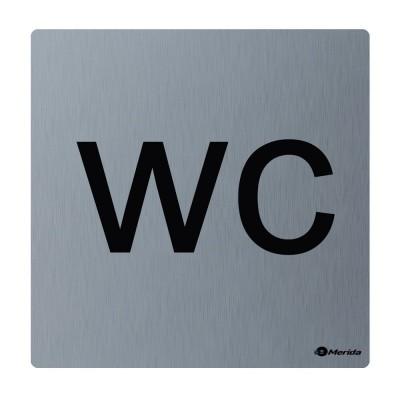 Piktogram z nerez oceli STELLA mat-WC invalidé