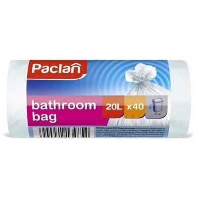 Paclan bathroom bags 20l 40x