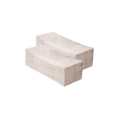 Jednotlivé papírové ručníky EKONOM šedé 5000 ks skládané