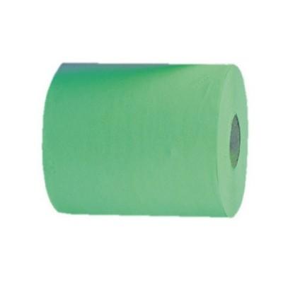 Papírové ručníky v rolích MAXI AUTOMATIC, zelené, 1 vrstvé, (6rolí/balení)