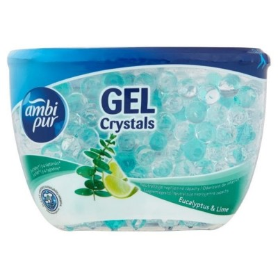 Ambi Pur Gel Crystals eucalyptus&lime 150 g
