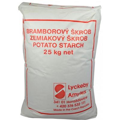 BRAMBOROVÝ škrob 25kg papírový pytel, země původu Česko