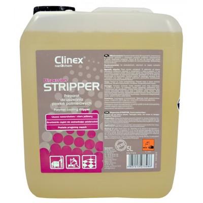 Clinex Dispersion STRIPPER 5l - Přípravek vhodný k odstraňování polymerních povlaků, málo pěnivý, velmi efektivní