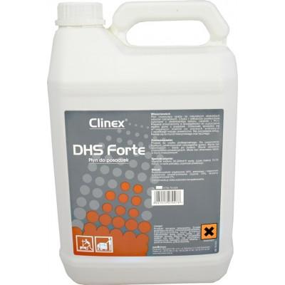 Clinex DHS Forte 5l - tekutý čistič na průmyslové podlahy vhodný na odstranění trvalých nečistot