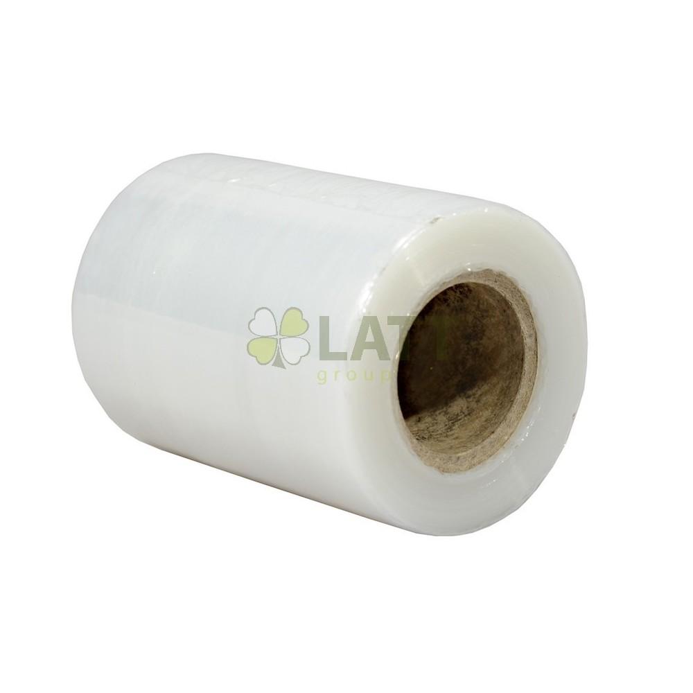 Ruční strečová fólie 100mm 150% 20my 0.3Kg - Transparentní
