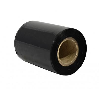 Ruční strečová fólie 100mm, průtažnost: 150% 20my 0.3Kg - Černá ( granát )