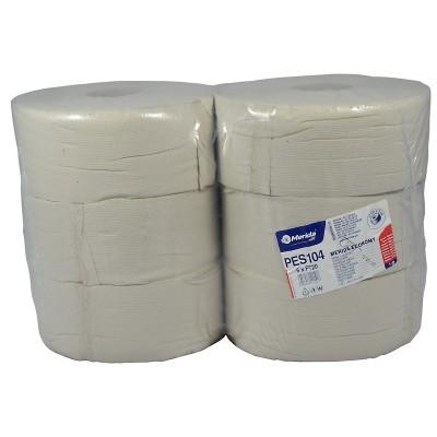 Merida ECONOMY - Toaletní papír 23 cm, 230 m, 1-vrstvý, (6 rolí/balení)