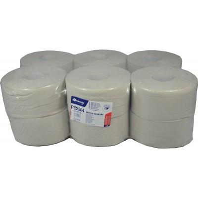 Toaletní papír ECONOMY, 19 cm, 180 m, 1-vrstvý,(12 rolí/balení)
