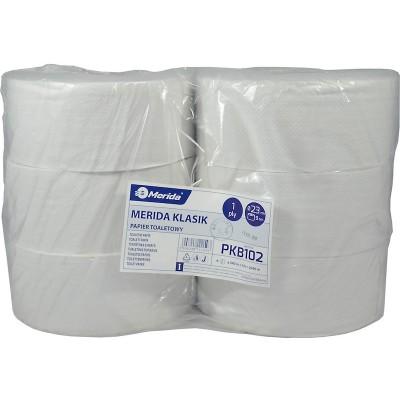 Merida KLASIK - 23 cm, 340 m, bělost 75% (6rolí/balení) - Toaletní papír