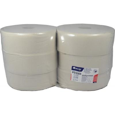 Toaletní papír ECONOMY, 28 cm, 350 m, 1-vrstvý, (6 rolí/balení)