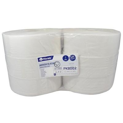 Toaletní papír Merida KLASIK, 28 cm, 480 m, bělost 75% (6rolí/balení)