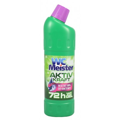 WC Meister AKTIV KRAFT Grun gelový čistič WC 1000 ml
