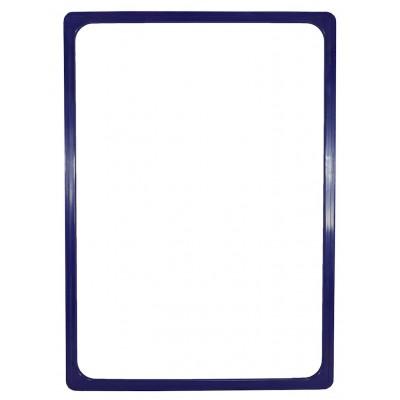 Plastový plakátový rámeček 100, A4, Modrá
