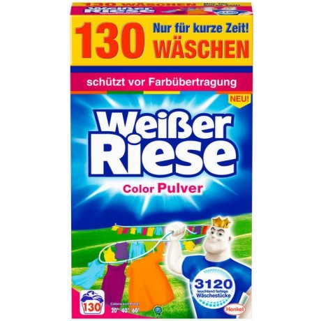 Weisser Riese Color Pulver prací prášek 130 dávek