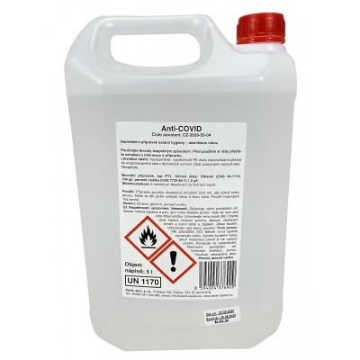 Zenit Anti-COVID - Dezinfekce rukou 5L
