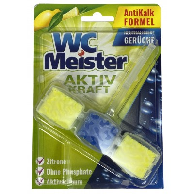 WC Meister citron 45g - závěska do WC