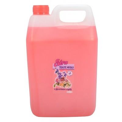 Sára tekuté mýdlo  CACAO 5l