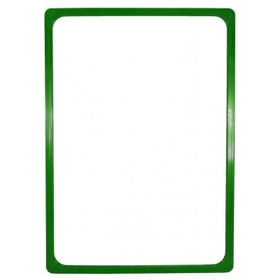Plastový plakátový rámeček 100, A4, zelená