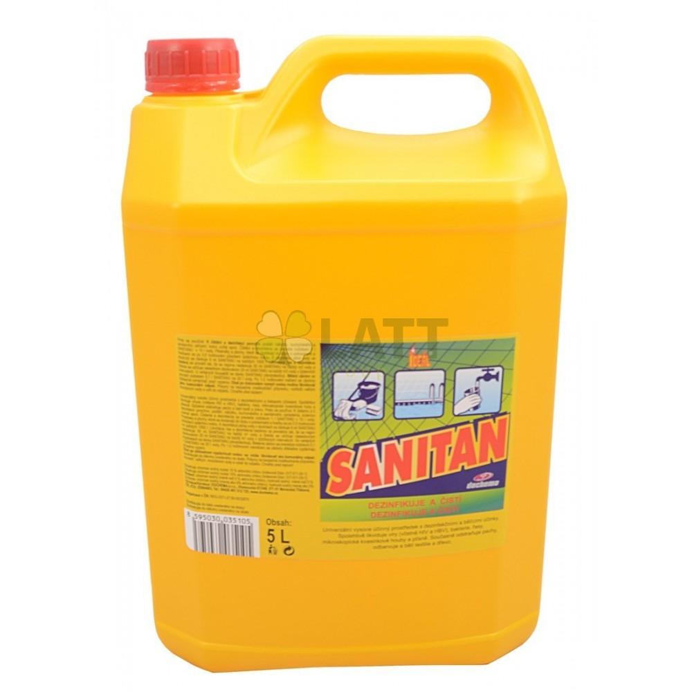 IDEAL SANITAN dezinfekční přípravek 5 L