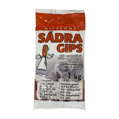 Kittfort Sádra bílá modelářská 1 kg