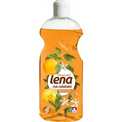 Lena tekutý prostředek na nádobí Pomeranč 500 g