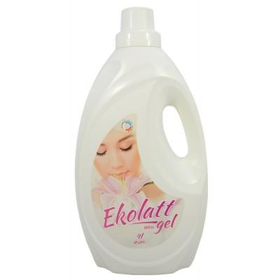 EKOLATT WHITE prací gel na bílé a stálobarevné prádlo 4l