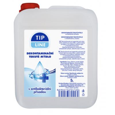 Tip Line Dekontaminační tekuté mýdlo s antibakteriální přísadou 5 l